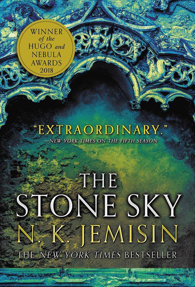 """Capa da edição americana do livro """"O Céu de Pedra"""", de N. K. Jemisin (foto: divulgação)"""